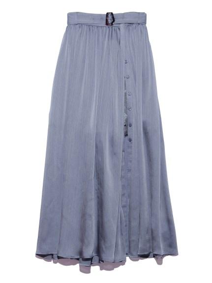 プリーツスカートショートパンツ(BLU-F)