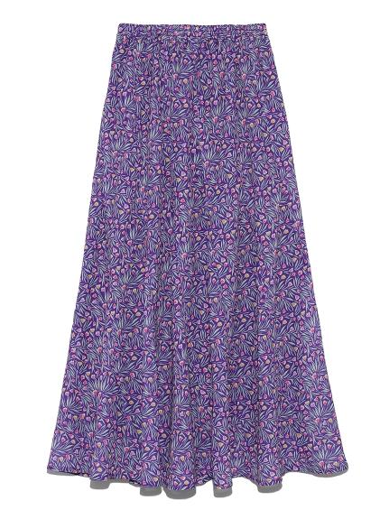 チューリップ柄切り替えスカート(PPL-F)