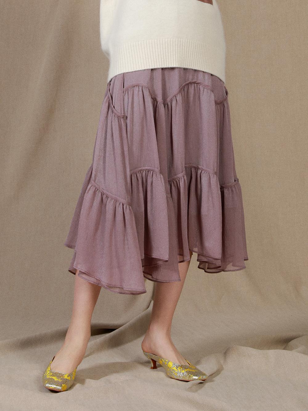 ライトボリュームスカート