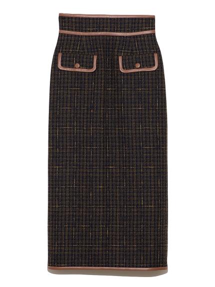 ツイードロングスカート