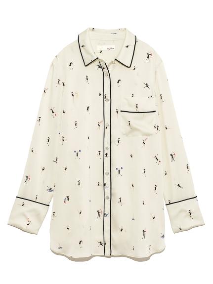 スポーツモチーフパイピングシャツ(OWHT-F)