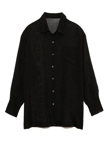 シースルーシャツ(BLK-F)