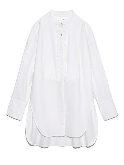 フリルビブヨークシャツ(OWHT-F)