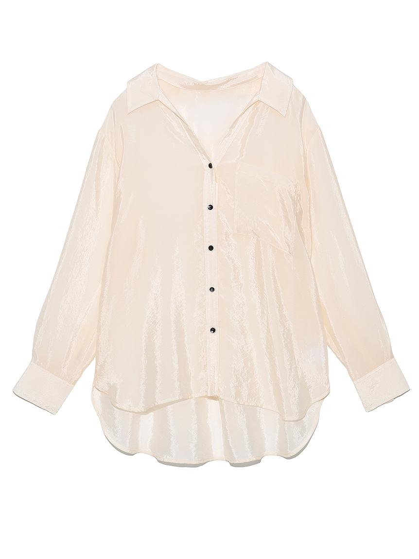 BEMNYオーガンジーシャツ(OWHT-F)