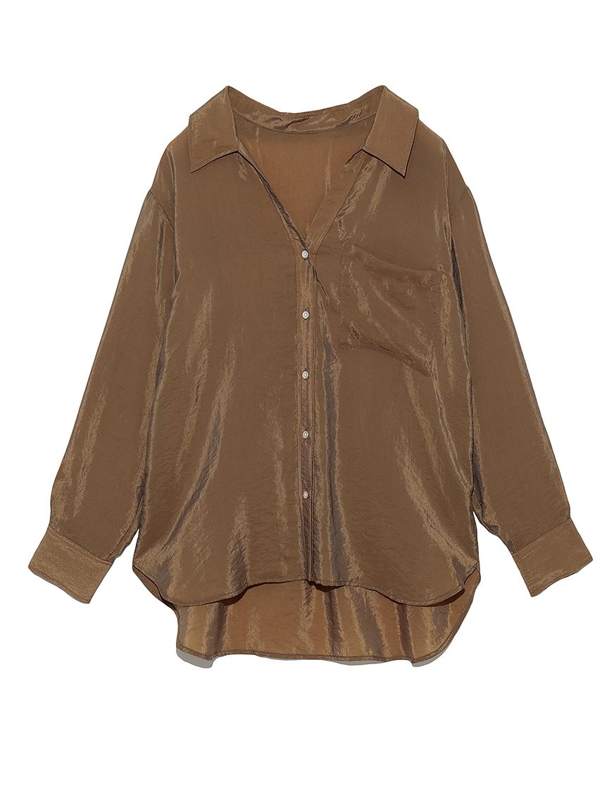 BEMNYオーガンジーシャツ(BRW-F)