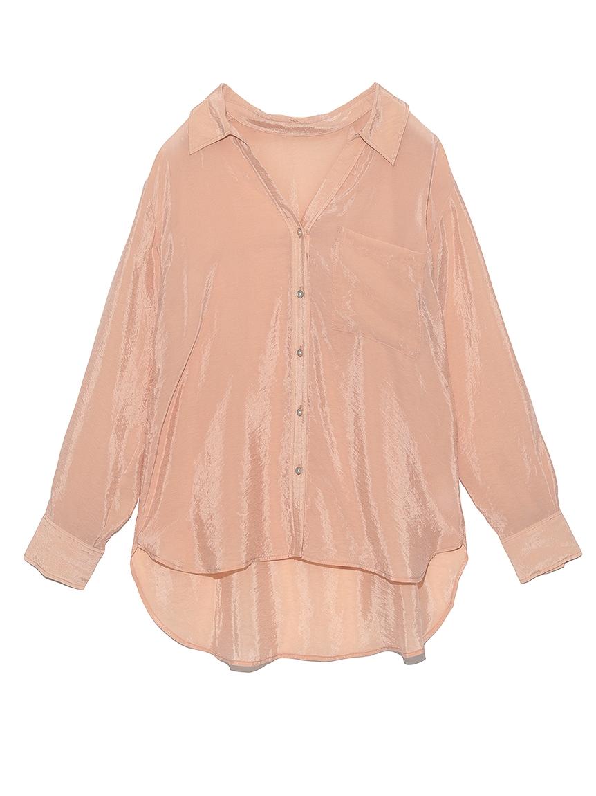 BEMNYオーガンジーシャツ(PNK-F)