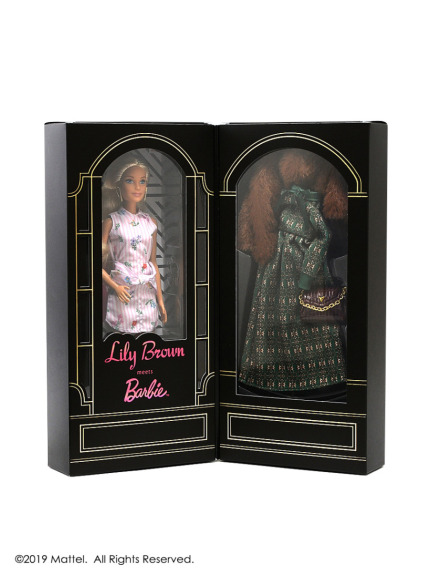 <Lily Brown meets Barbie>スペシャルボックス(BLK-F)