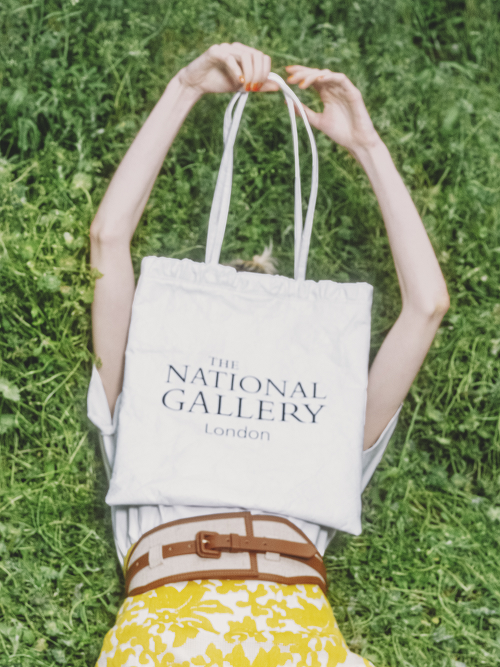 【The National Gallery, London】トートバッグ(WHT-F)