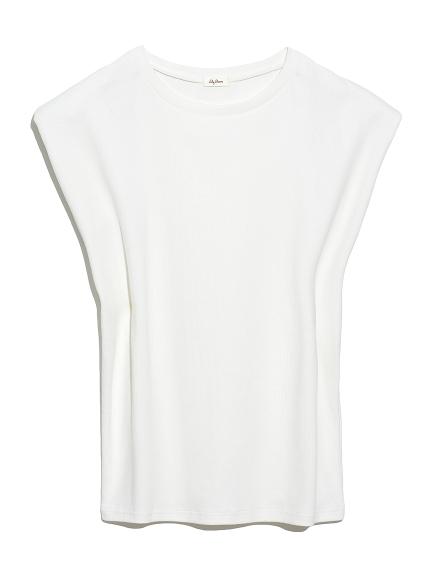 ショルダーパットTシャツ