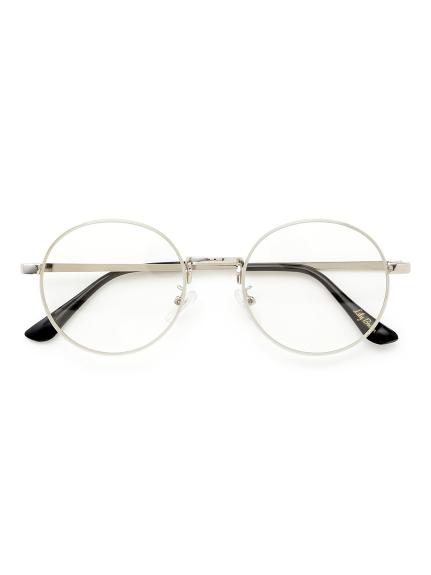 メタルフレームメガネ