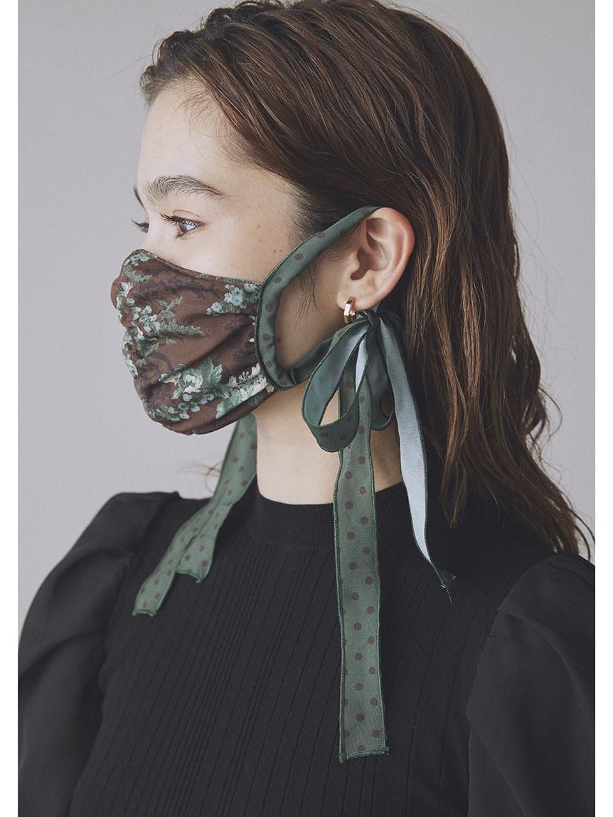 フラワードットマスク