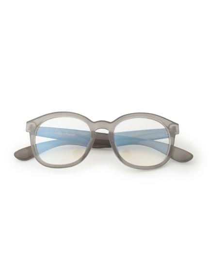 ブルーライトカットセルメガネ(GRY-F)