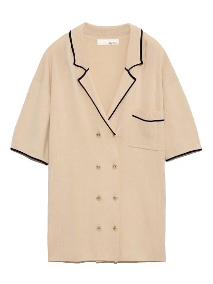 ラインニットシャツ(OWHT-F)