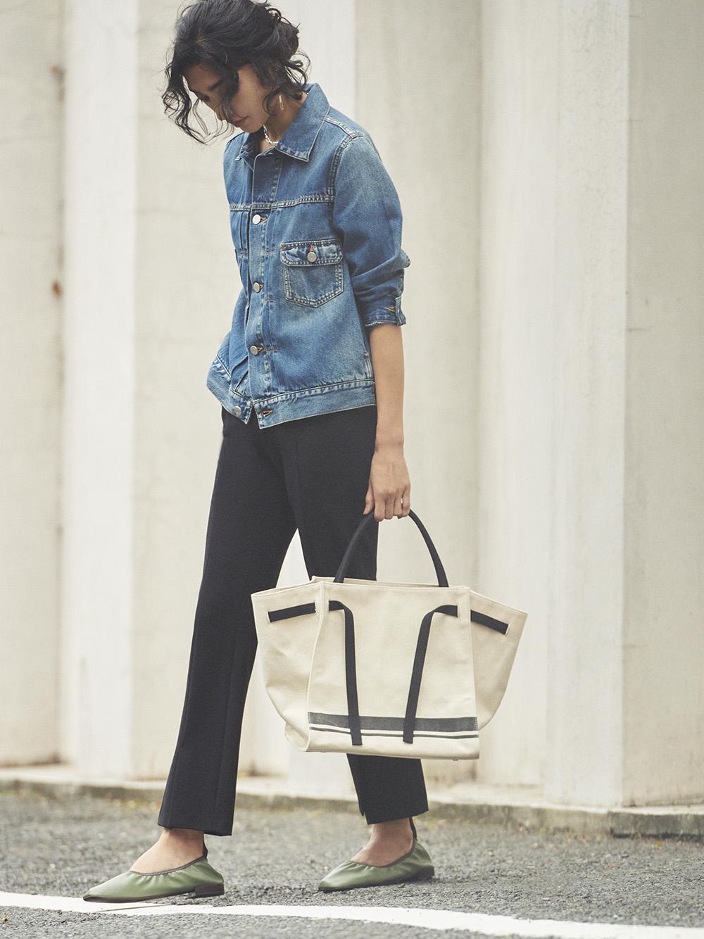 裾段差ベンツジャージパンツ(BLK-0)