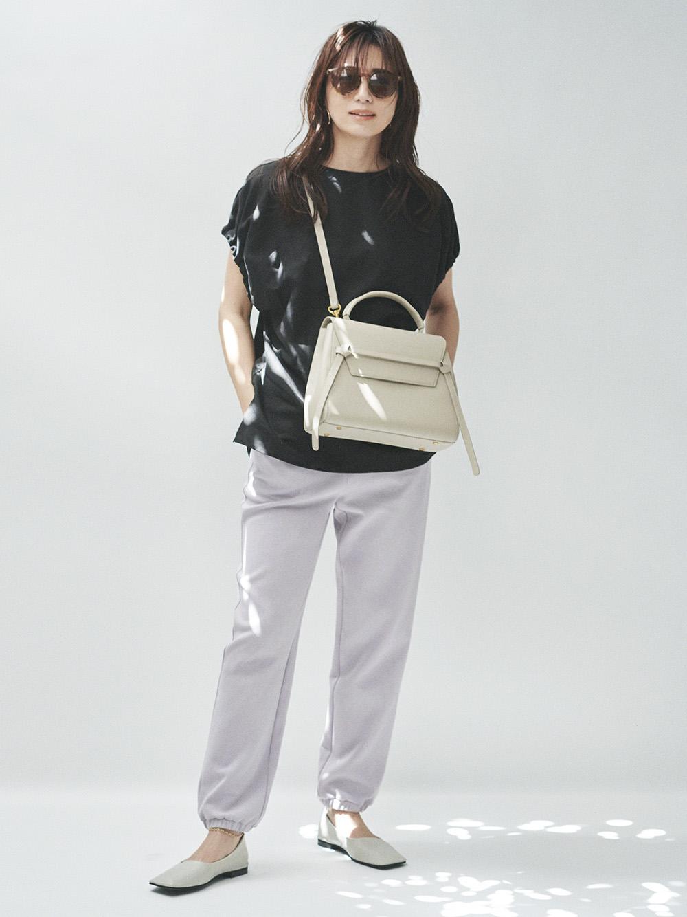 裾絞りスウェットパンツ(LAV-0)