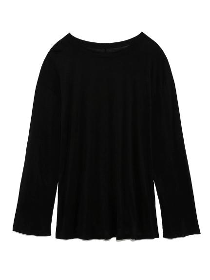 ロングスリーブTシャツ(BLK-F)