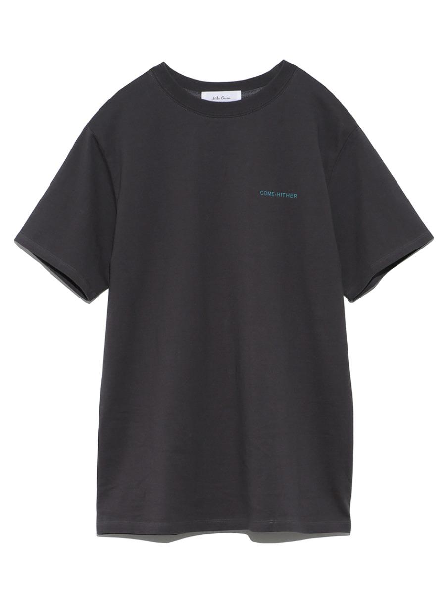 バックプリントTシャツ(GRY-0)