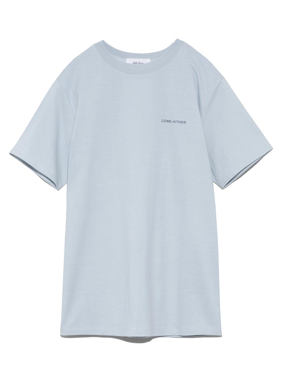 バックプリントTシャツ(LBLU-0)