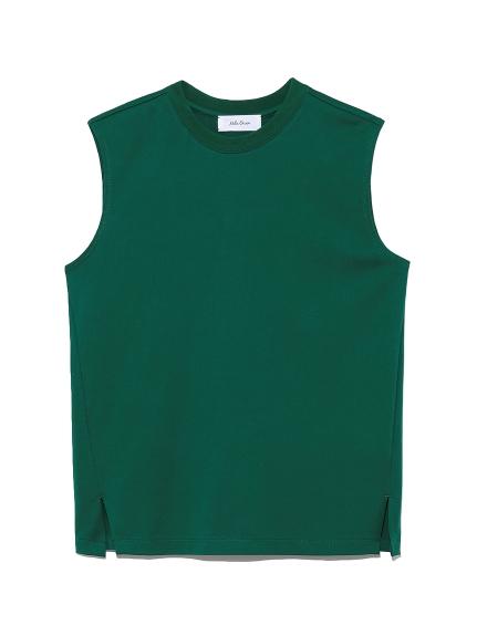 ベーシックノースリーブTシャツ(GRN-0)