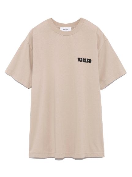 パフプリントTシャツ(BEG-0)