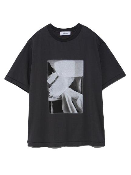 フォトプリントTシャツ(BLK-0)