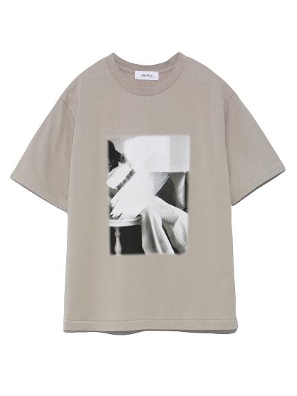 フォトプリントTシャツ(BEG-0)