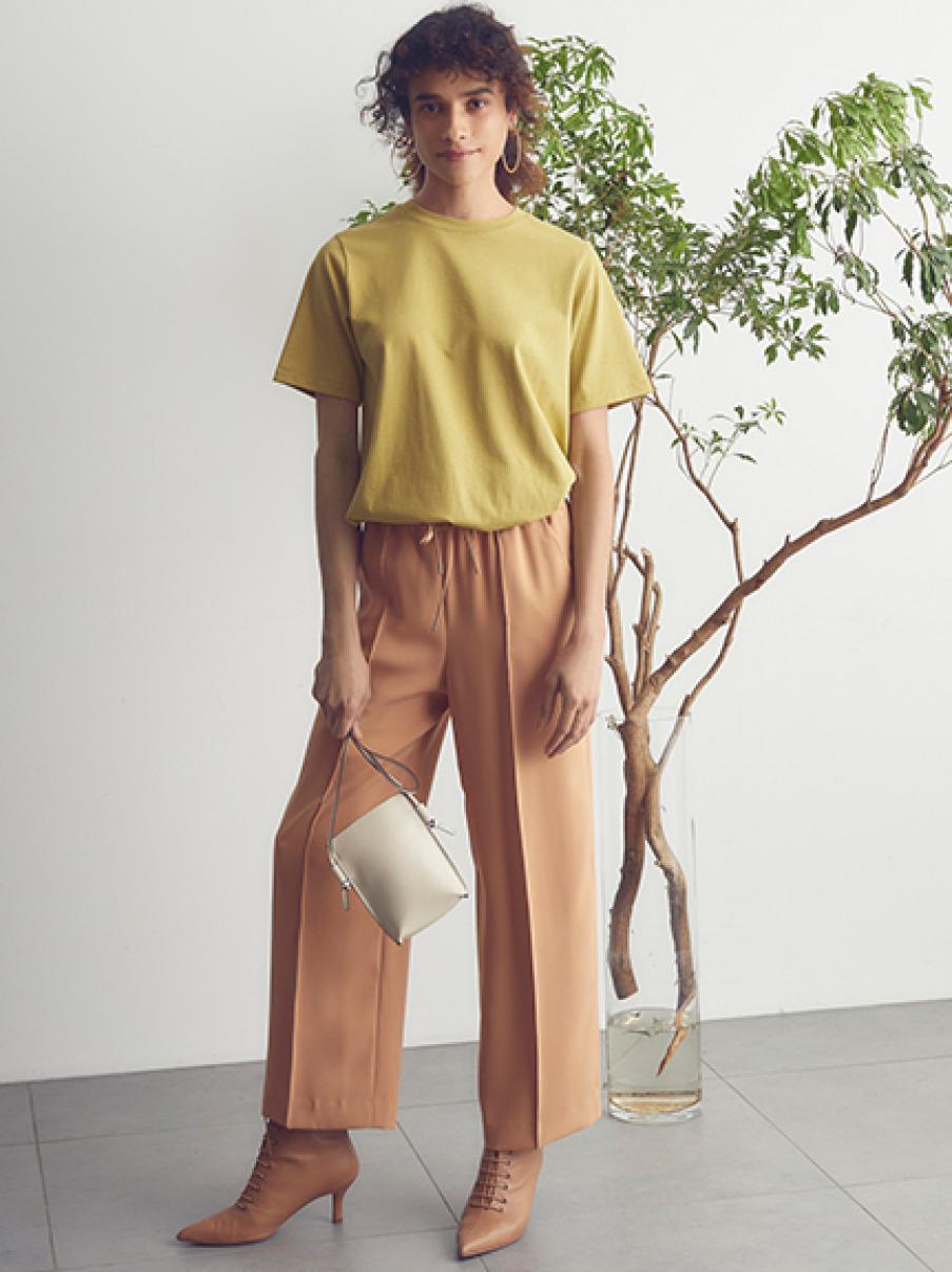 ハイラインロングTシャツ(YEL-0)