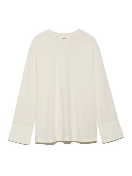 カフスドッキングロングTシャツ(WHT-0)