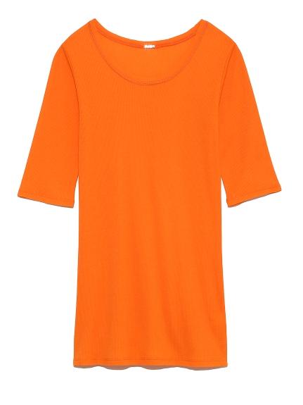 ラウンドテレコTシャツ(ORG-0)