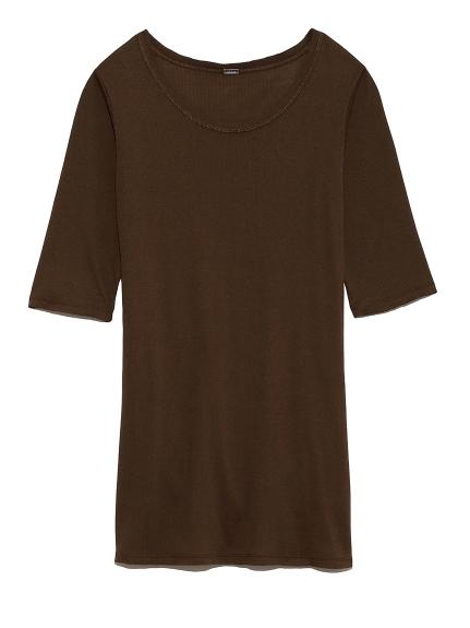 ラウンドテレコTシャツ(MOC-0)
