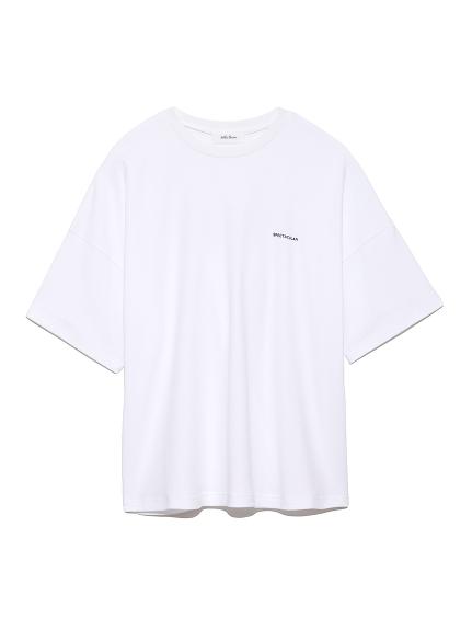 バックロゴプリントTシャツ(WHT-F)