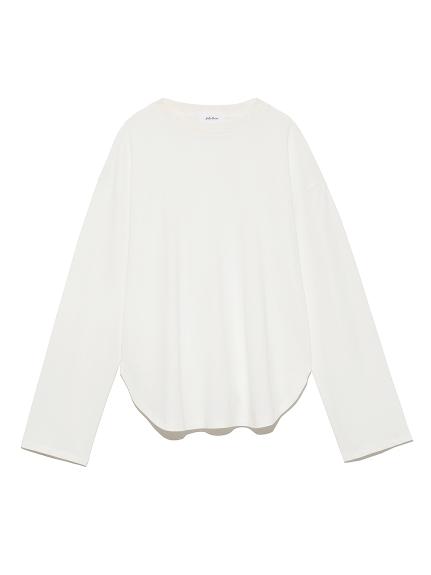 シャツカーブロングスリーブTシャツ(WHT-0)