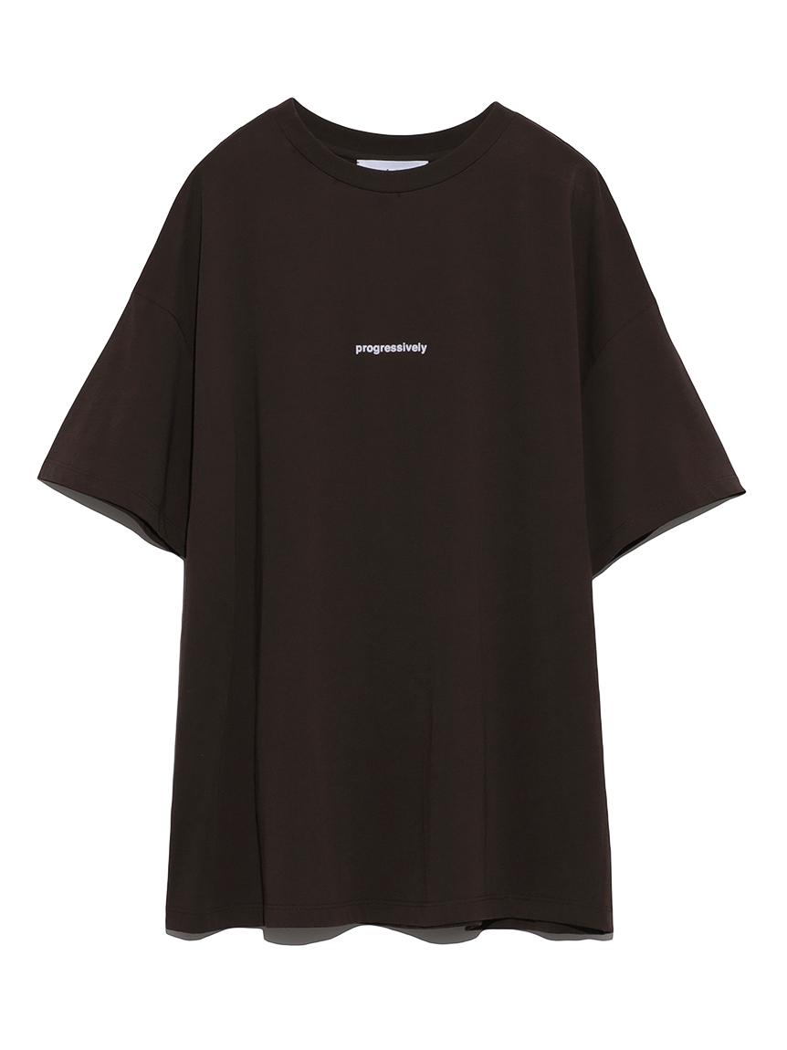 フロッキープリントTシャツ(BRW-0)