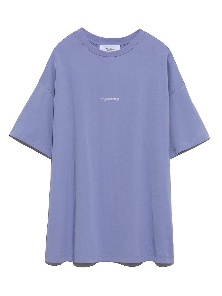 フロッキープリントTシャツ(LAV-0)