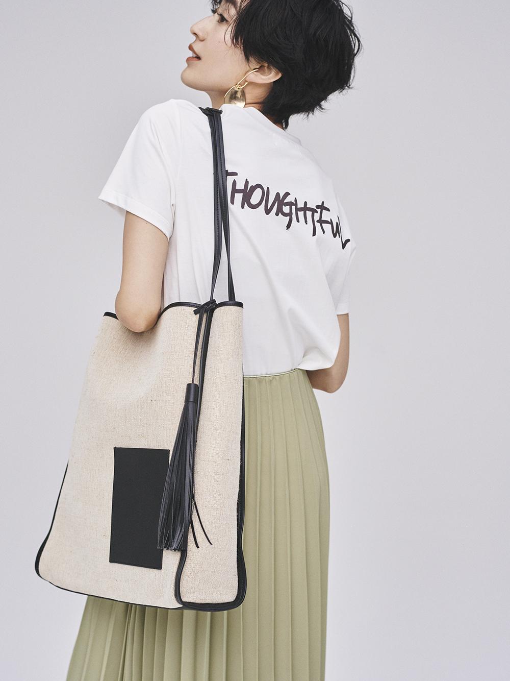 手書き風ロゴTシャツ(WHT-0)