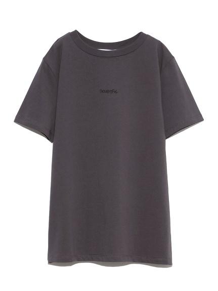 手書き風ロゴTシャツ(CGRY-0)