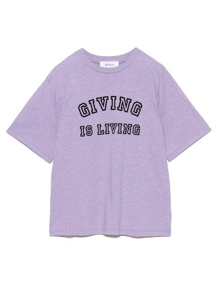 フロッキープリントTシャツ(PPL-0)