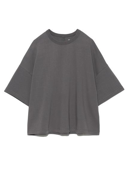 ハイラインワイドTシャツ(CGRY-0)
