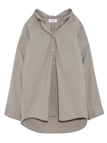 ワイドシルエットボタンダウンシャツ(KKI-0)