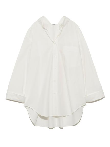バックタックシャツ(WHT-F)