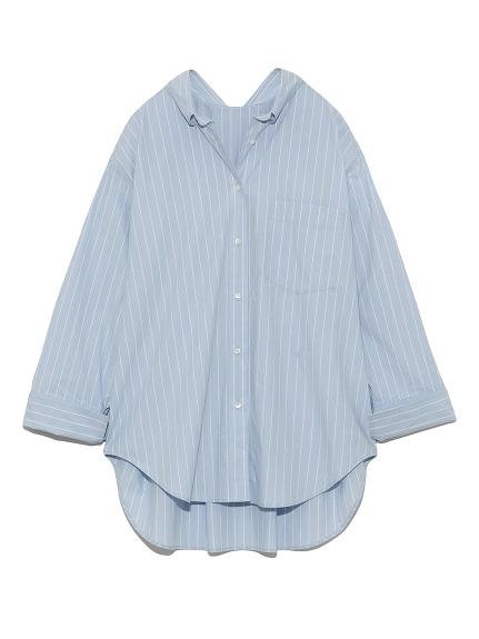 バックタックシャツ(LBLU-F)