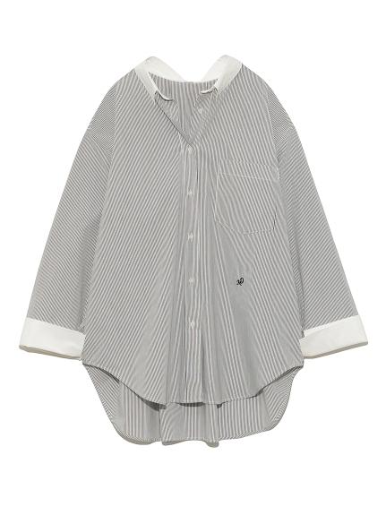 バックタックシャツ(MIX-F)