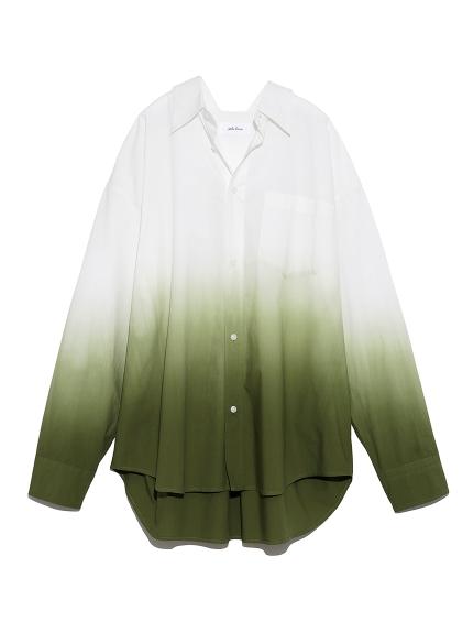 メンズライクグラデーションシャツ(GRN-F)