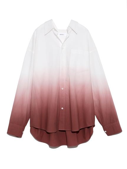 メンズライクグラデーションシャツ(PNK-F)