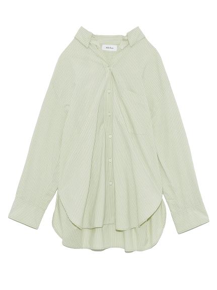 隠し釦ダウンベーシックシャツ(OLV-0)