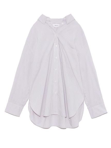 隠し釦ダウンベーシックシャツ(LAV-0)