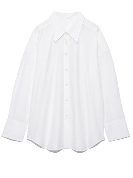 ポイントカラーワイドシャツ(WHT-F)