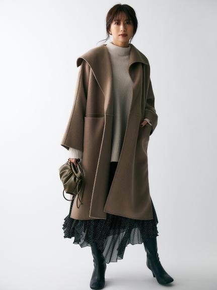 衿デザインハーフコート