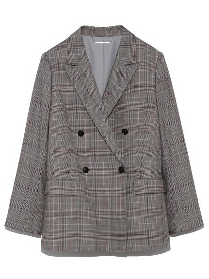 セットアップスーツテーラードジャケット(CHECK-0)