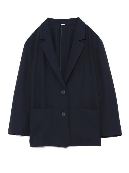 ポケットデザインイージースーツジャケット(NVY-0)